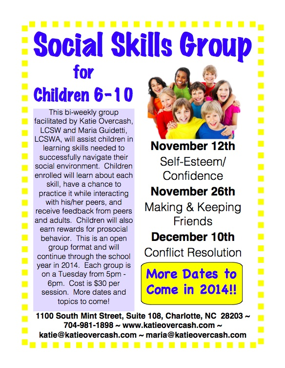 Social skill group activities
